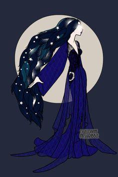 Princess Luna (MLP human form) - Doll Divine Dress Up Games