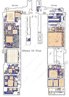 Schematic Diagram (searchable PDF) for iPhone PlusWe will send the schematic diagrams by email once the payment done.Warning: These diagrams can be only used as repair guide, we don't pay response. Iphone 5s, Iphone Hacks, Apple Iphone, Iphone Repair, Mobile Phone Repair, Iphone 6 Backlight, Unlock Iphone Free, T Mobile Phones, Electronic Schematics