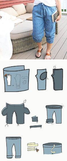 Put your sewing skills to good use—even if you're a beginner—by tackling this project for Jogger pants. Using fabric from Jo-Ann, it couldn't be easier to make your ideal pair of fashionable sweatpants!