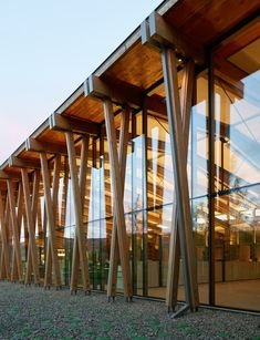 Washington Fruit & Produce Co. Headquarters Twisted Columns | Architect Magazine | Wood, Structure, Detail, Brett Baba, Mike MacAlevy, Michael Wright, Washington Fruit & Produce Co., Graham Baba Architects, Selkirk Timberwrights, Artisan Inc., Washington