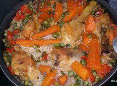 Le blog de Cata: Riz au poulet