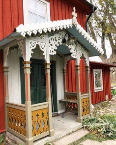 Gazebo, Pergola, Storybook Homes, Ethnic Home Decor, Cottage Exterior, Exterior Doors, Little Houses, Scandinavian Design, House Colors