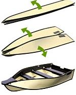 Porta Bote lightweight folding boat