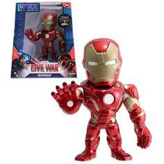 Captain America: Civil War Iron Man Die-Cast Action Figure - Jada Toys - Captain America - Action Figures at Entertainment Earth