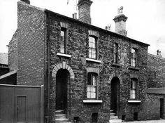 Arkwright Street nos 7 and 9 c1963