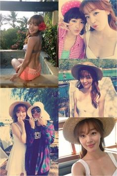 "Sunhwa shows off her sexy back on the set of SECRET's ""YooHoo"" MV Han Sunhwa, Korean Star, Kpop Girls, Panama Hat, The Secret, Girl Group, Kdrama, Singer, Sexy"