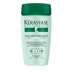 Resistance Bain Force Architecture | Daily, reconstructing shampoo for weakened to very damaged hair.
