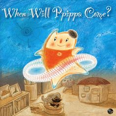 """Did you have an imaginary friend in your childhood? This is a story about the lovely imaginary friend, """"Ppippa"""".   search this book on iBooks store. (or search  'jangyoung') http://itunes.apple.com/us/book/isbn9788998110055"""