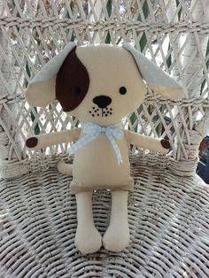 My friend Parker Puppya handmade cloth puppy doll