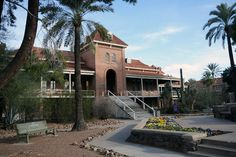 Old main at the University of Arizona. (equivalent of keating hall at fordham...so different)