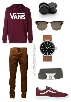 """""""Untitled #247"""" by ohhhifyouonlyknew on Polyvore featuring Vans, Tom Ford, Jack & Jones and Buckle-Down"""