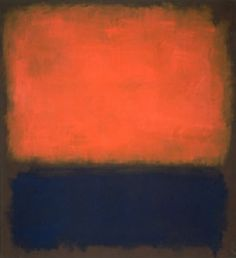 Mark Rothko - No. 14 ... Saw this at the MOMA in San Fran.