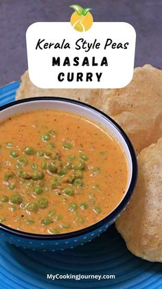 Kerala Style Peas Masala Curry, is an aromatic, rich and Vegan subzi made with fresh green peas and coconut milk. It can be served with idli, dosai, idiyappam, appam or poori. Masala Curry, Green Peas, Fresh Green, Coconut Milk, Kerala, Vegan Recipes, Vegetarian, Cooking, Ethnic Recipes