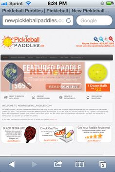Another great website for pickleball