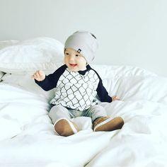 VONBON Organic Cotton Linx Crew Neck Pullover #boysstyle #babyboy