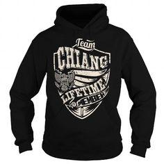 I Love Last Name, Surname Tshirts - Team CHIANG Lifetime Member Eagle Shirts & Tees
