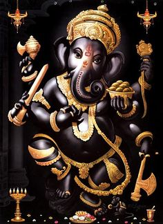Lord Ganesha is one of the most popular Hindu deity. Here are top Lord Ganesha images, photos, HD wallpapers for your desktop and mobile devices. Jai Ganesh, Ganesh Lord, Ganesha Art, Lord Shiva, Shree Ganesh, Ganesha Pictures, Ganesh Images, Happy Ganesh Chaturthi Images, Dancing Ganesha