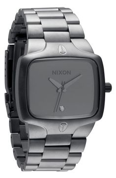 Nixon brand Men's Watch <3 Nixons styles of watches..... I love the square face on this one...got one for my hubby!! He loves it❤️
