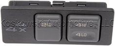 Four Wheel Drive Selector Switch #Chevy #GMC #K1500 #Suburban NP1 15969707 19168766 #Dorman #4x4