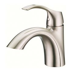 Kohler Rubicon Single Hole Handle Bathroom Faucet In Vibrant Brushed Nickel Pinterest And Bath