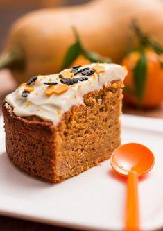 La recette: Cake à la courge butternut pour Halloween.© DR