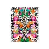 Found it at Wayfair - Animal and Flower Print Beach Towel