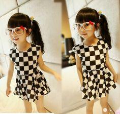 Jeito Simples de Ser: Moda Infantil: Tendência preto & branco