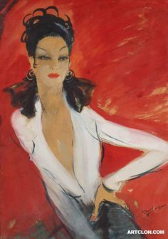 Jean Gabriel Domergue (Hate the advertising text but couldnt find a copy without)