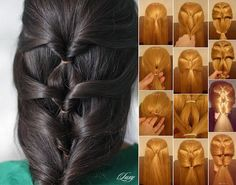 Diy Projects: Layered twist Around Hairstyle with Video Tutorial on imgfave