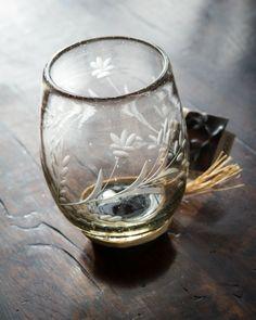 Jan Barboglio Pepita Red Wine Glass | #rustic #tabletop #iron #homedecor