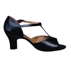 Stylishly retro, Cuban Heel open toe #shoes to Salsa and/or Tango the night away in.