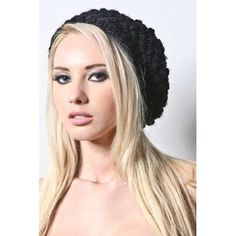 Oversized Knit Hats; definitely becoming my thing...