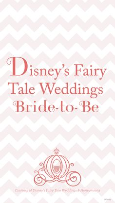 "Freebie Wallpaper from our blog - ""Disney's Fairy Tale Weddings Bride-to-Be"" #Disney #wedding #freebie #wallpaper"