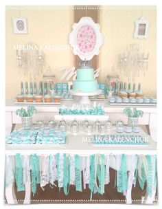 Crown birthday party dessert table! See more party planning ideas at CatchMyParty.com!