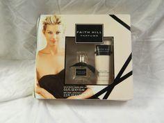 Faith Hill Parfums - EDT spray .5 oz, body lotion 2.5 oz. - NIB (please read)  #FaithHillbyCoty