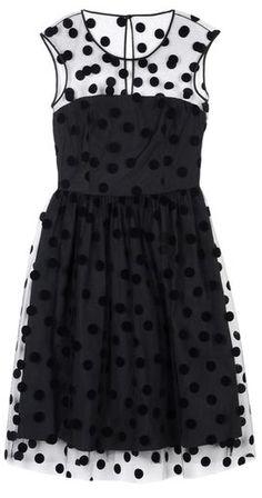 blumarine swiss dot dress