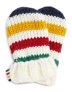HBC Collections   $50 HBC Signature Stripe Throw + 30% off other HBC Collection   Multi Stripe Infant Mittens   Hudson's Bay