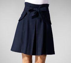 Kyumi High Waist Belt Skirt