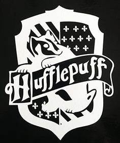 Harry Potter HUFFLEPUFF Hogwarts House Crest vinyl decal for car, laptop, etc!, http://smile.amazon.com/dp/B01COIP7UI/ref=cm_sw_r_pi_awdm_Nwnsxb1D9VHVJ