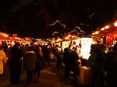 Weihnachtsmarkt Stadtgarten in Köln