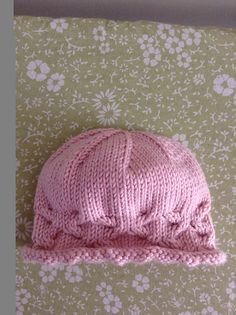 Ravelry: Anne's First Starfish Baby Hat pattern by Sarah Ferris