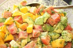 : Beet, Dill, and Avocado Salad (gluten free, dairy free, soy free)