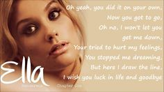 Ella Henderson - Missed (Official Studio Version) Lyrics on Screen [Full...