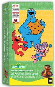 Cricut SESAME STREET FRIENDS Cartridge