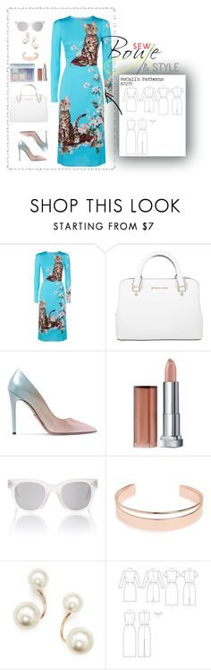 """""""All About Cats"""" by sew-bouje on Polyvore featuring Dolce&Gabbana, Michael Kors, Prada, Maybelline, Spektre, Leith and Zoë Chicco"""