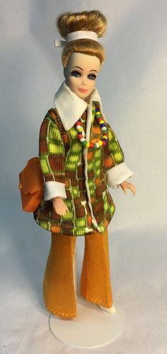Vintage Topper Dawn Doll Modeling Denise/H11C In Triki Miki Holiday Cruise