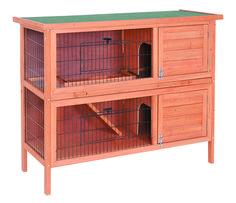 Clapier lapin on pinterest rabbit hutches cage lapin for Clapier lapin exterieur