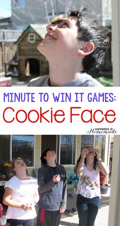 Minute to Win It Games - Cookie Face