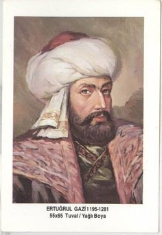 A illustration of Erthugrul Begh, father of Osman-the founder of the Ottoman Empire-
