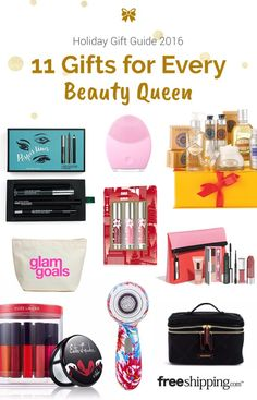 The ultimate gift guide for makeup lovers on your holiday shopping list.